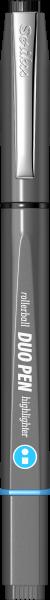 Grey / Black-Blue-1223