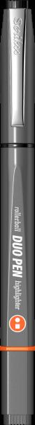 Grey / Black-Orange-1225