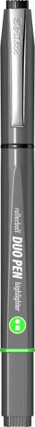Grey / Black-Green-1226